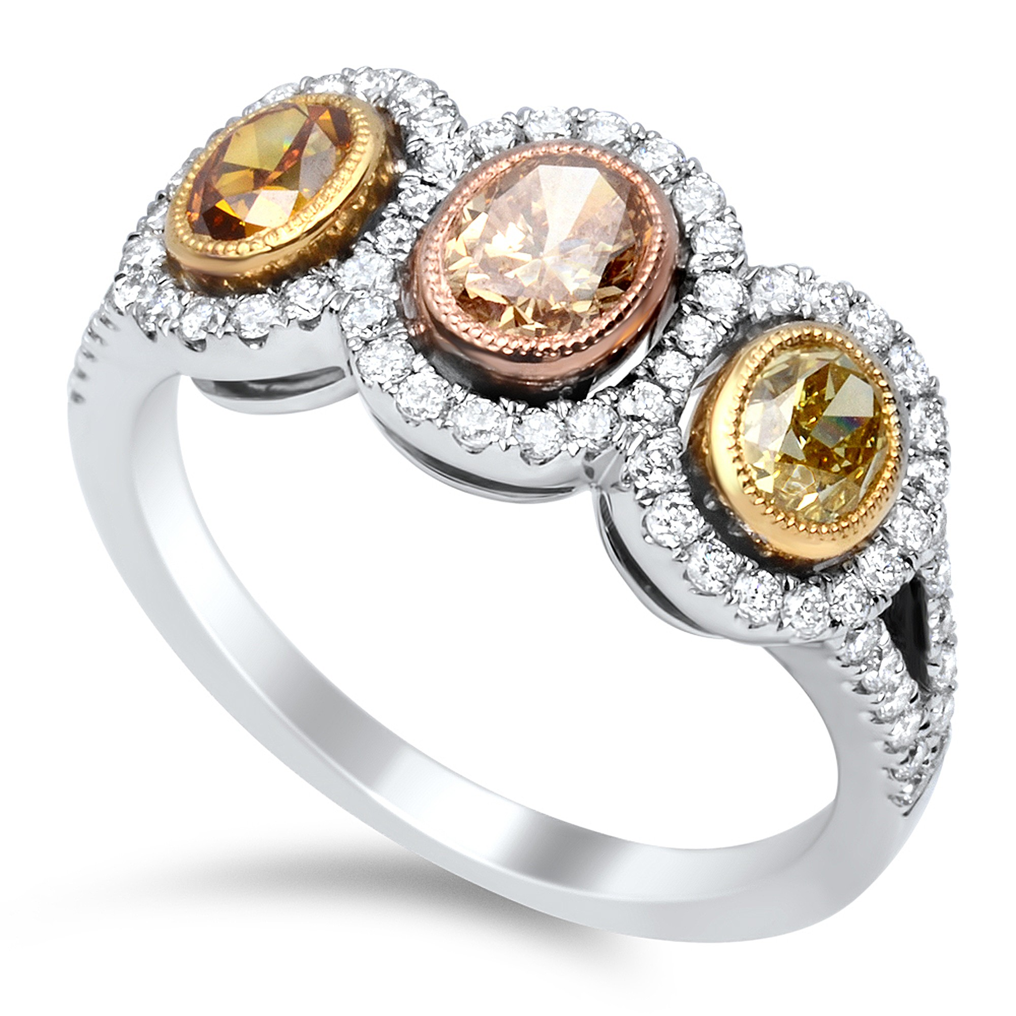 Image 11 of Colored Diamond Engagement Rings: What's the Buzz?