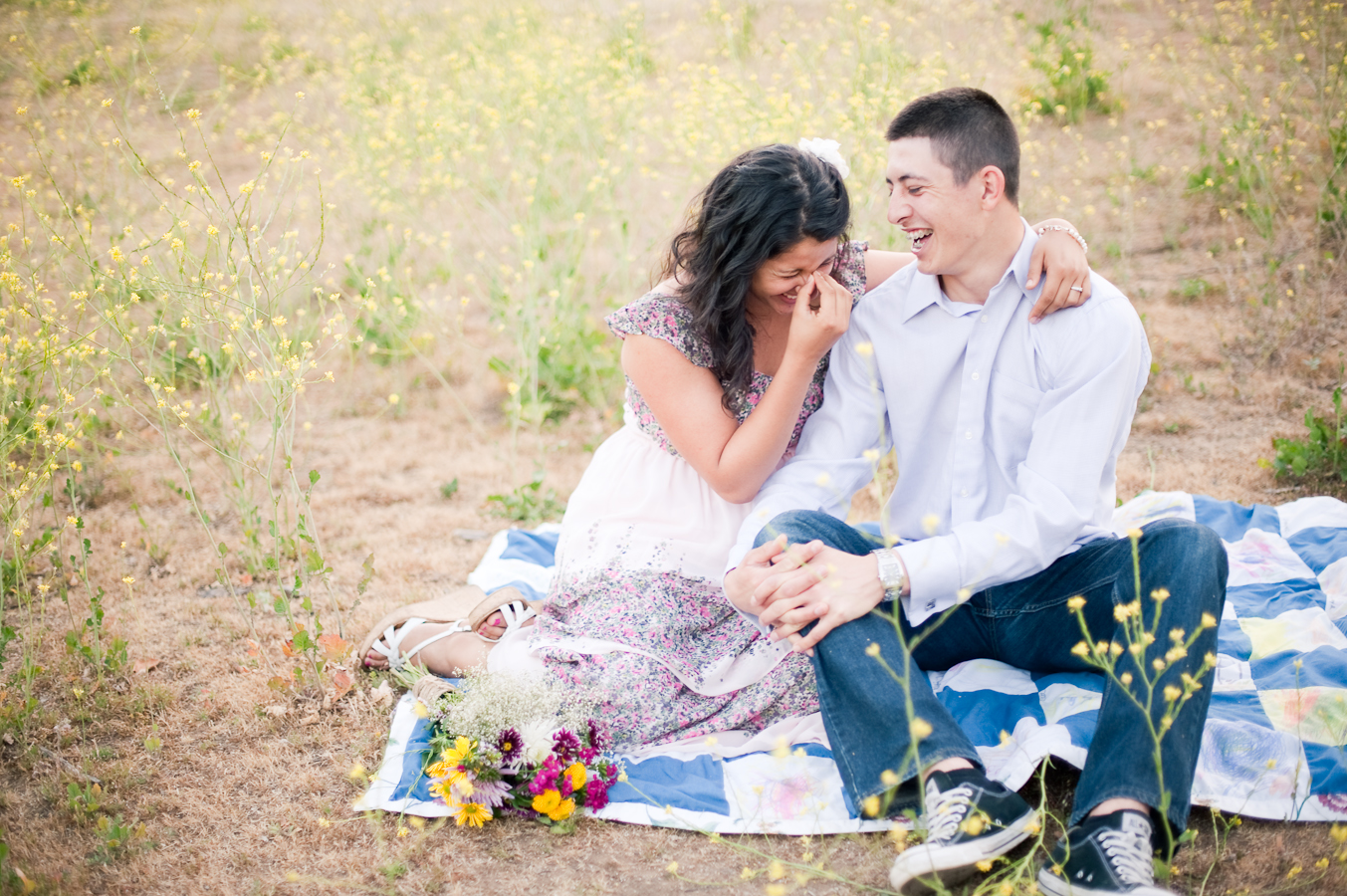 Image 1 of Andrea and Andres' Proposal Story