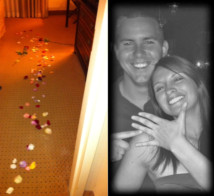 Image 2 of Proposal Story:  Teal and Jeremy