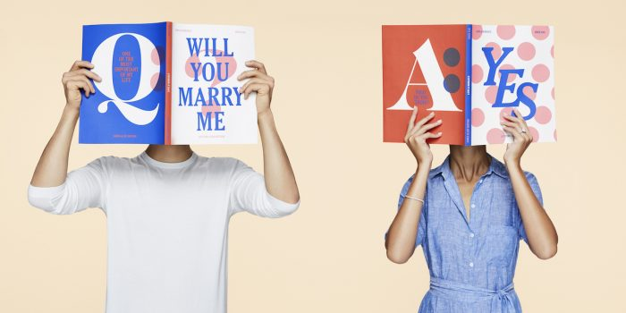 Image 1 of Three Common Engagement Ring Buying Questions Answered by How They Asked + James Allen
