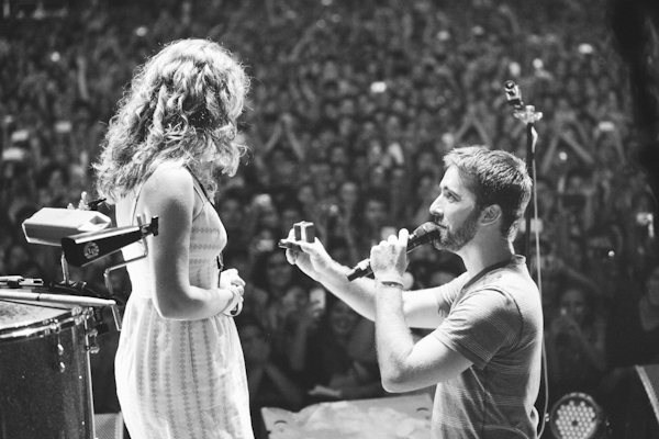Image 3 of Proposal at a Foster the People Concert
