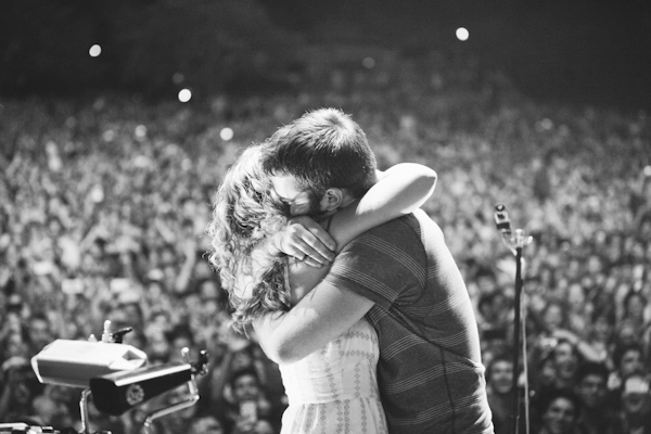 Image 6 of Proposal at a Foster the People Concert