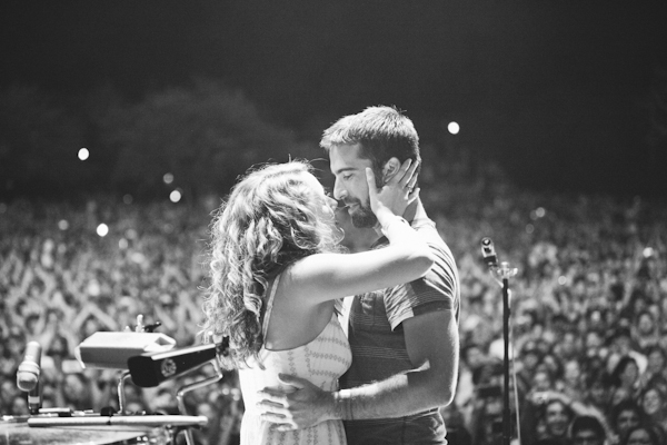 Image 4 of Proposal at a Foster the People Concert