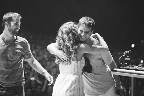 Image 5 of Proposal at a Foster the People Concert