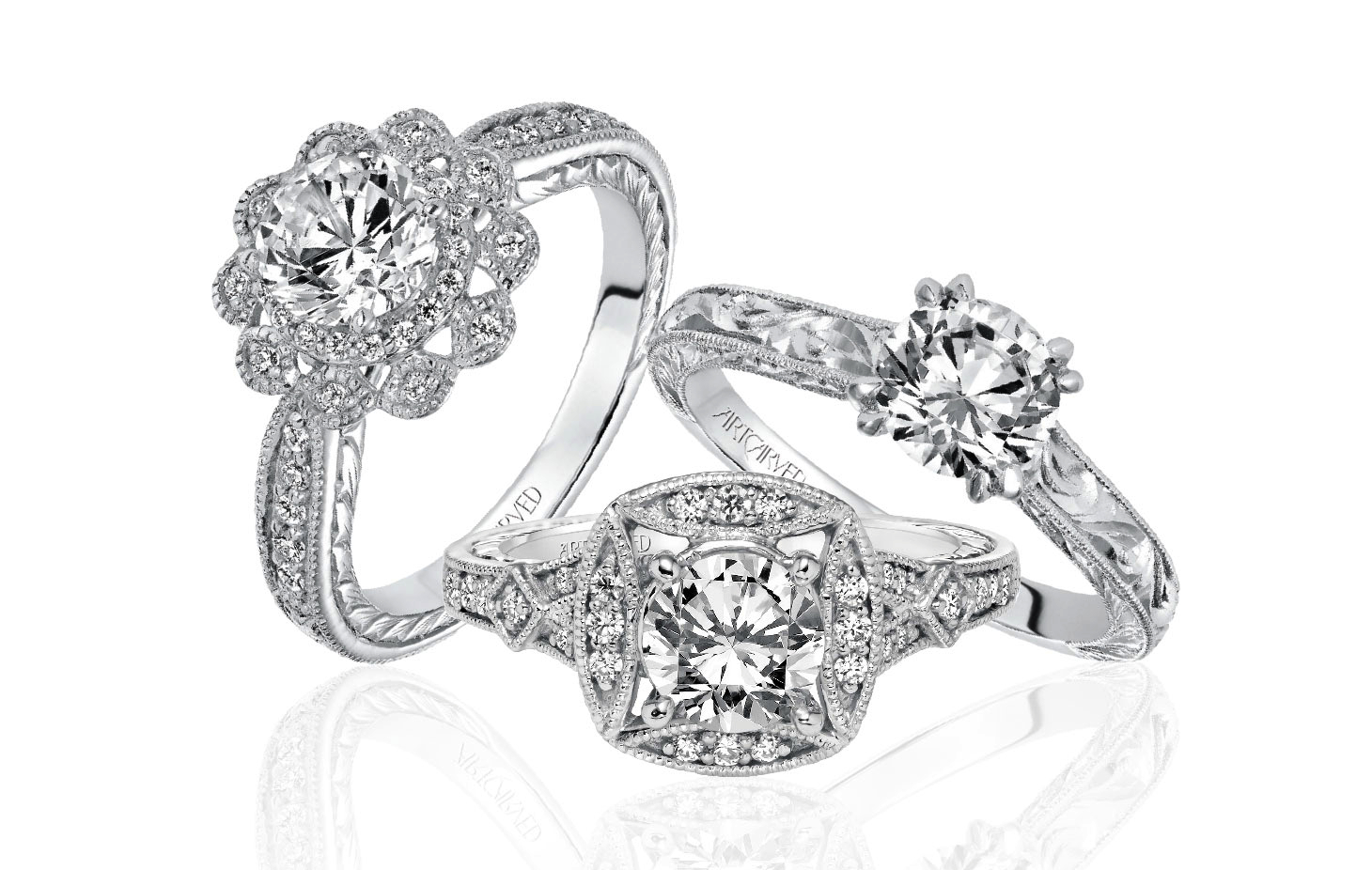 Image 3 of Win $5,000 Towards an Engagement Ring or Wedding Bands from ArtCarved