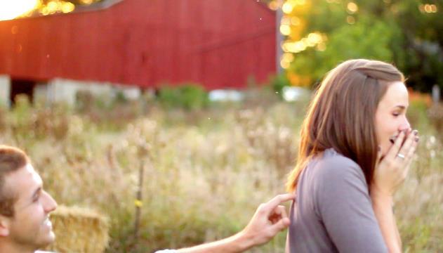Image 1 of Amazing Proposal Video: Tina and James