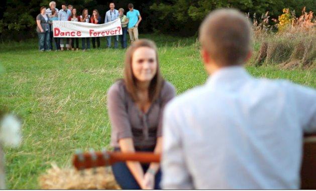 Image 2 of Amazing Proposal Video: Tina and James