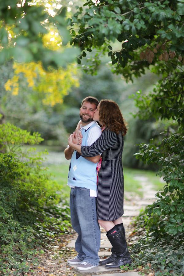Image 9 of Marriage Proposal at the Missouri Botanical Gardens; John Paul and Gertrude