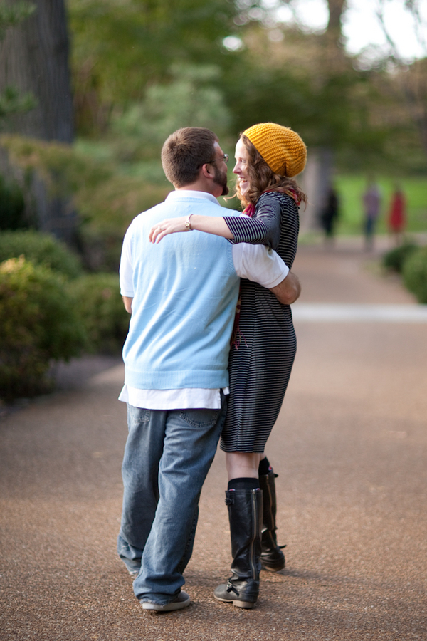 Image 8 of Marriage Proposal at the Missouri Botanical Gardens; John Paul and Gertrude