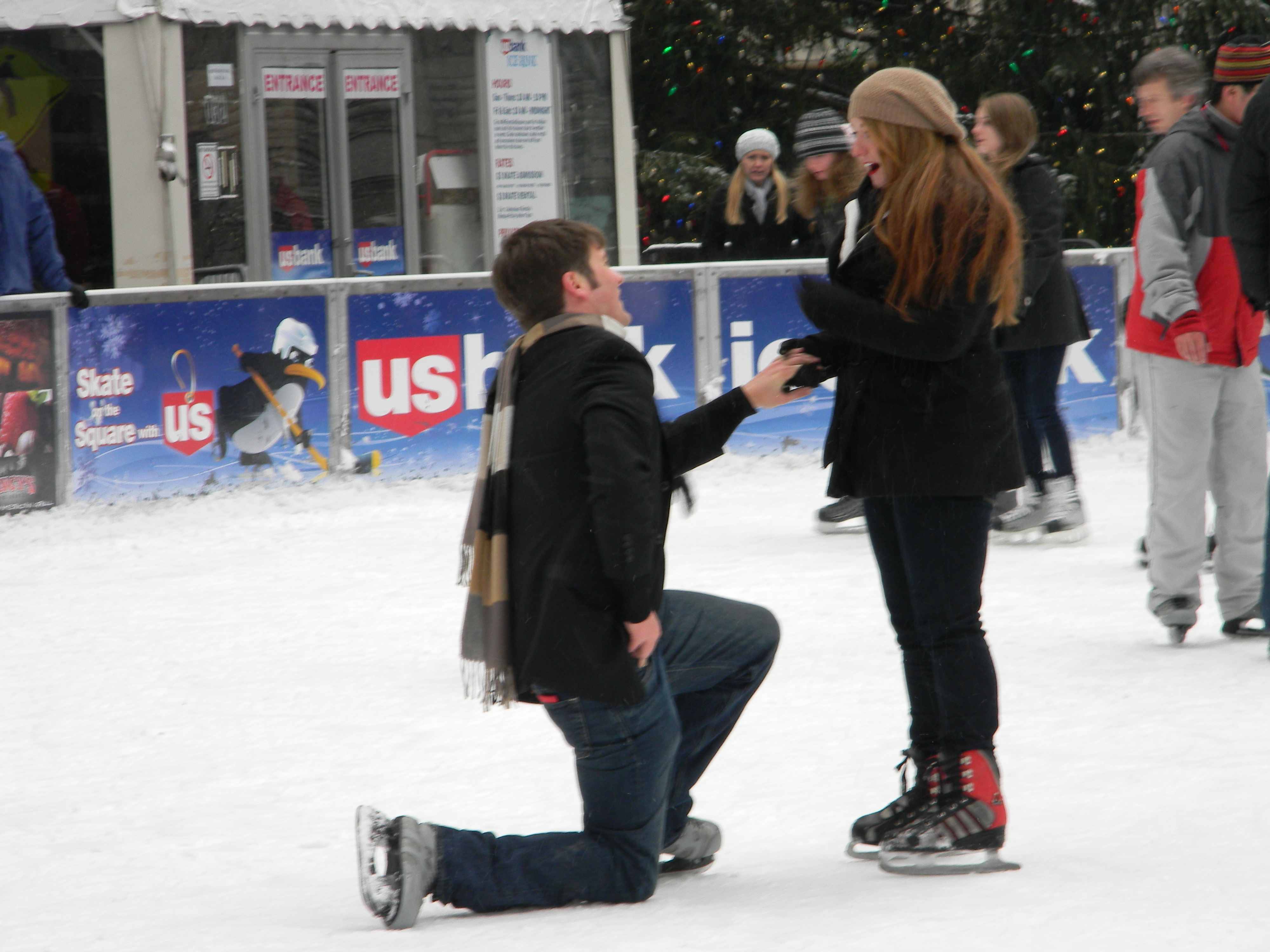 Marriage Proposal Reaction