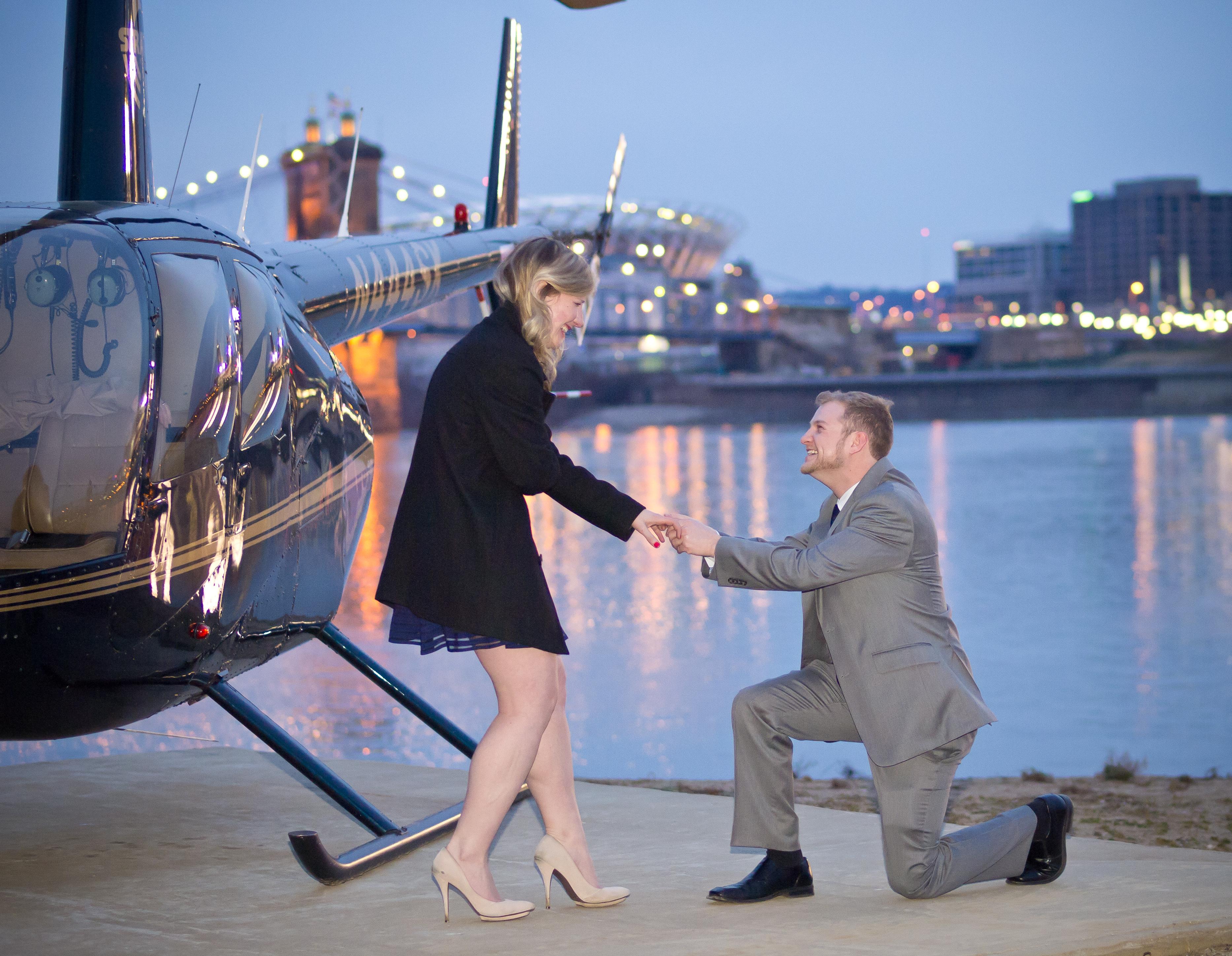 Image 2 of A Very Creative Marriage Proposal in Cincinnati