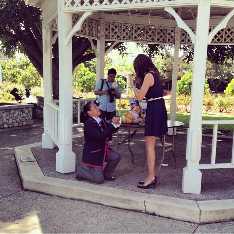 Image 8 of How She Asked: Glee-Inspired Proposal Video