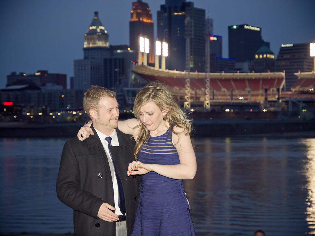 Image 7 of A Very Creative Marriage Proposal in Cincinnati