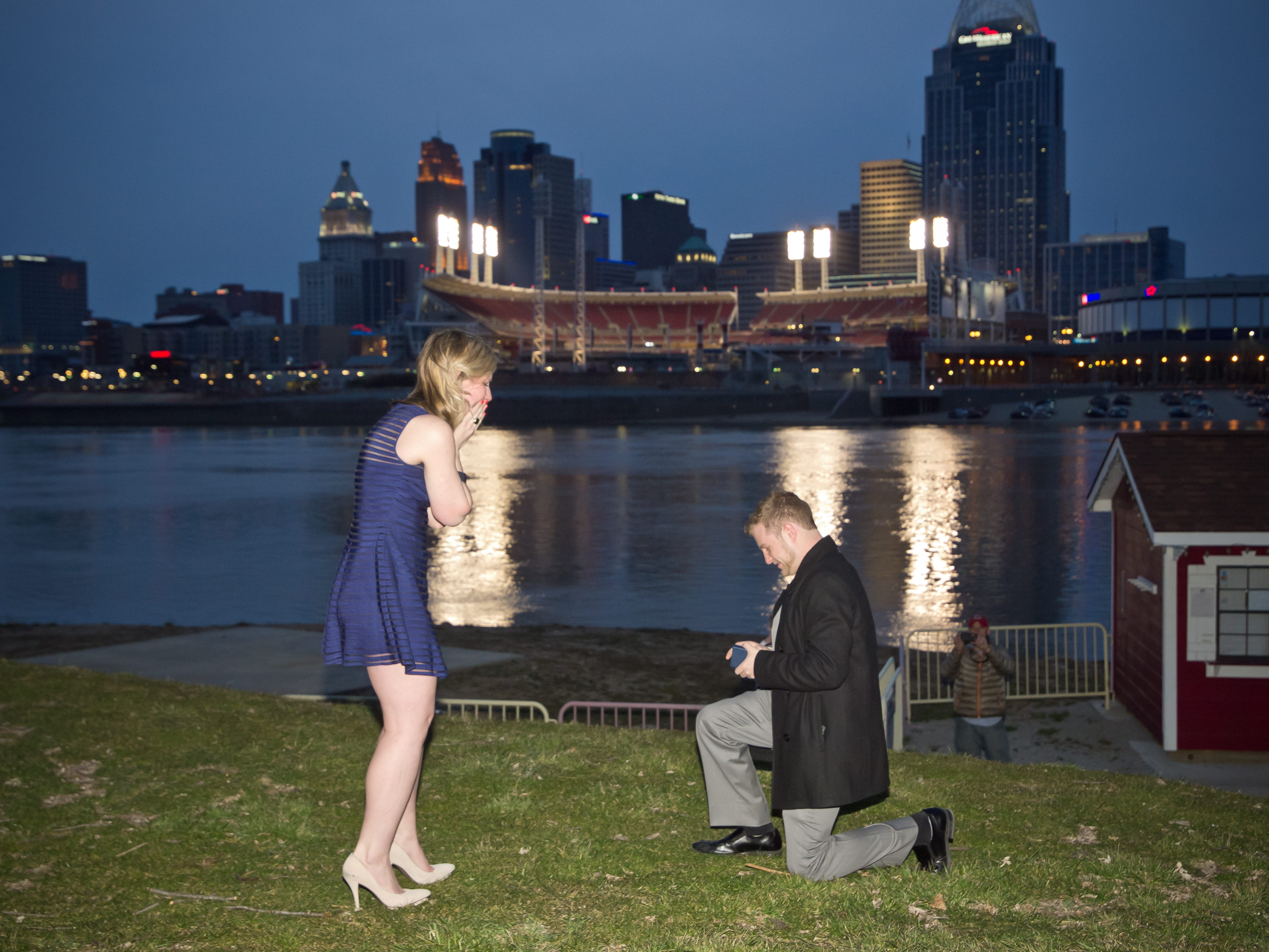 Image 5 of A Very Creative Marriage Proposal in Cincinnati