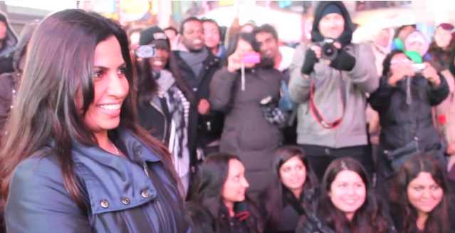 Image 3 of Times Square Bollywood Flash Mob Proposal
