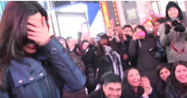 Image 4 of Times Square Bollywood Flash Mob Proposal