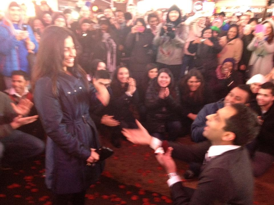 Image 5 of Times Square Bollywood Flash Mob Proposal