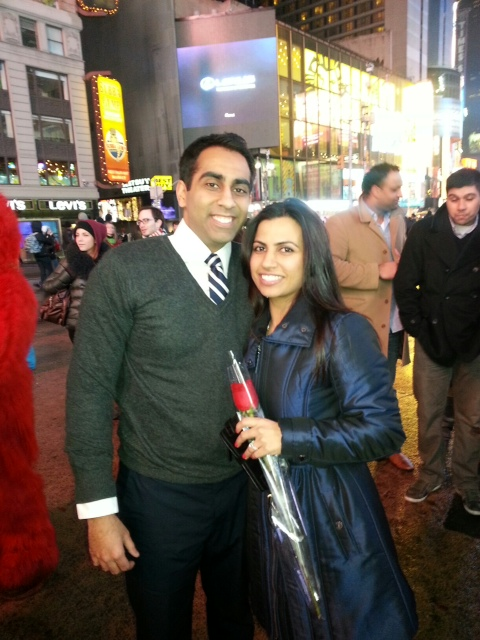 Image 1 of Times Square Bollywood Flash Mob Proposal