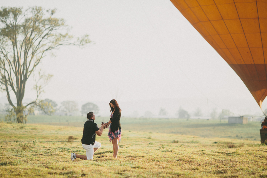Image 1 of Hot Air Balloon Proposal