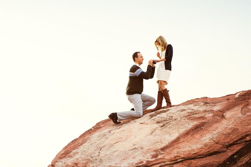 Image 6 of Surprise Wedding Proposal at Red Rock Canyon