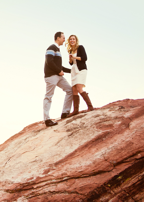 Image 8 of Surprise Wedding Proposal at Red Rock Canyon