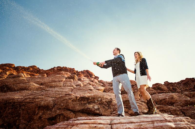 Image 1 of Surprise Wedding Proposal at Red Rock Canyon