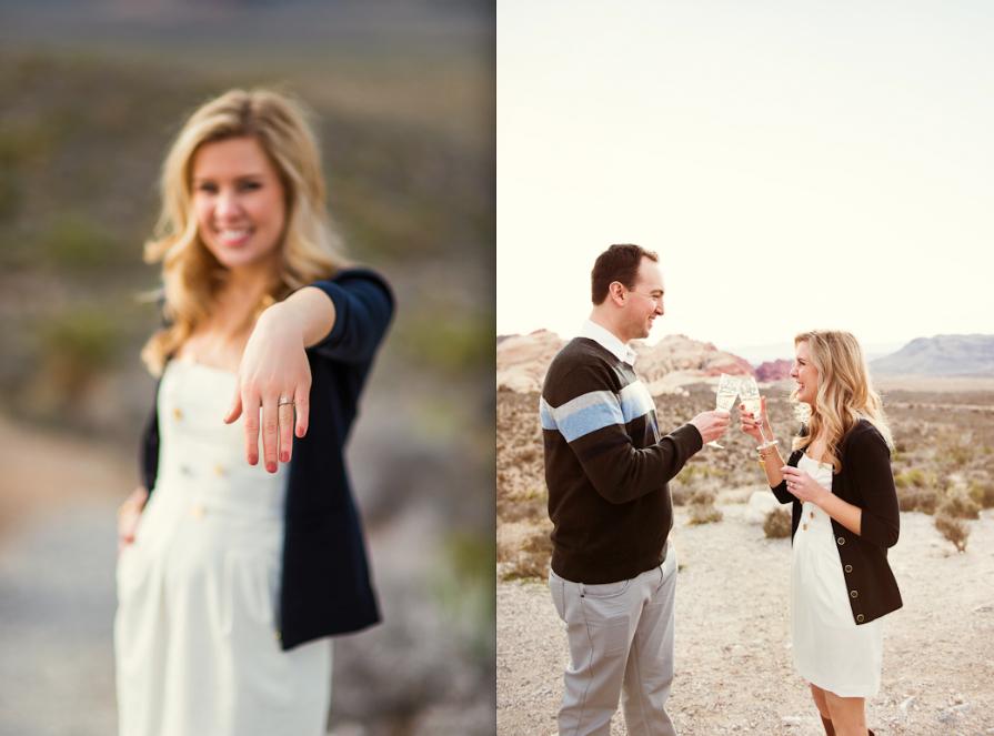 Image 12 of Surprise Wedding Proposal at Red Rock Canyon