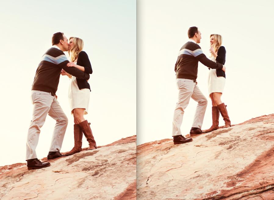 Image 2 of Surprise Wedding Proposal at Red Rock Canyon