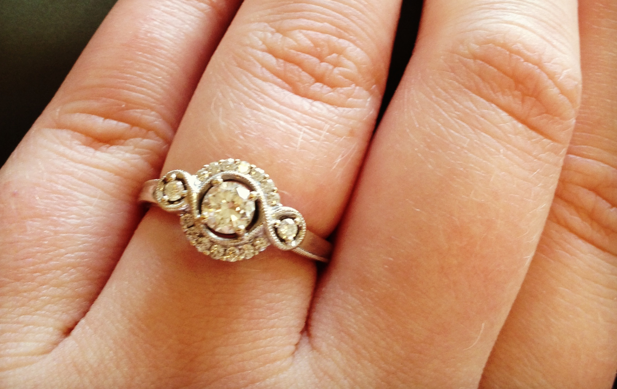 Image 7 of Reader's Rings II; Engagement Ring Photos Submitted by You!