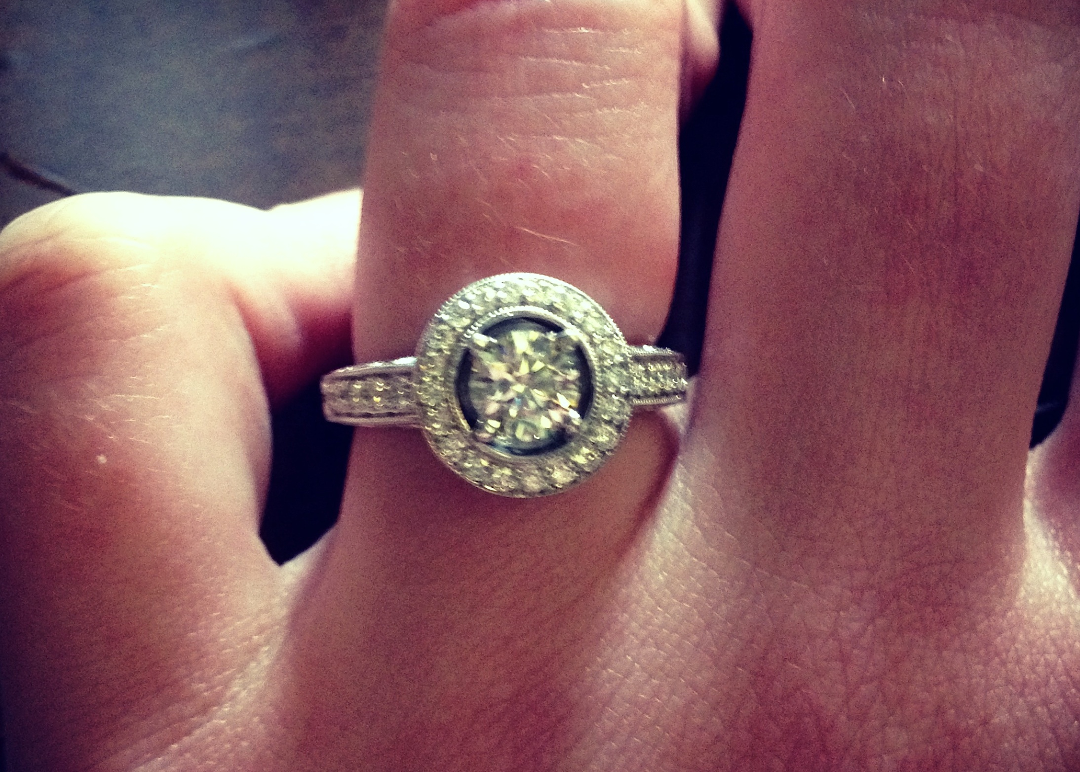 Image 8 of Reader's Rings II; Engagement Ring Photos Submitted by You!