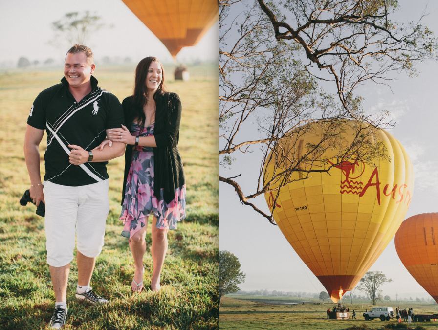 hot air balloon proposal 4