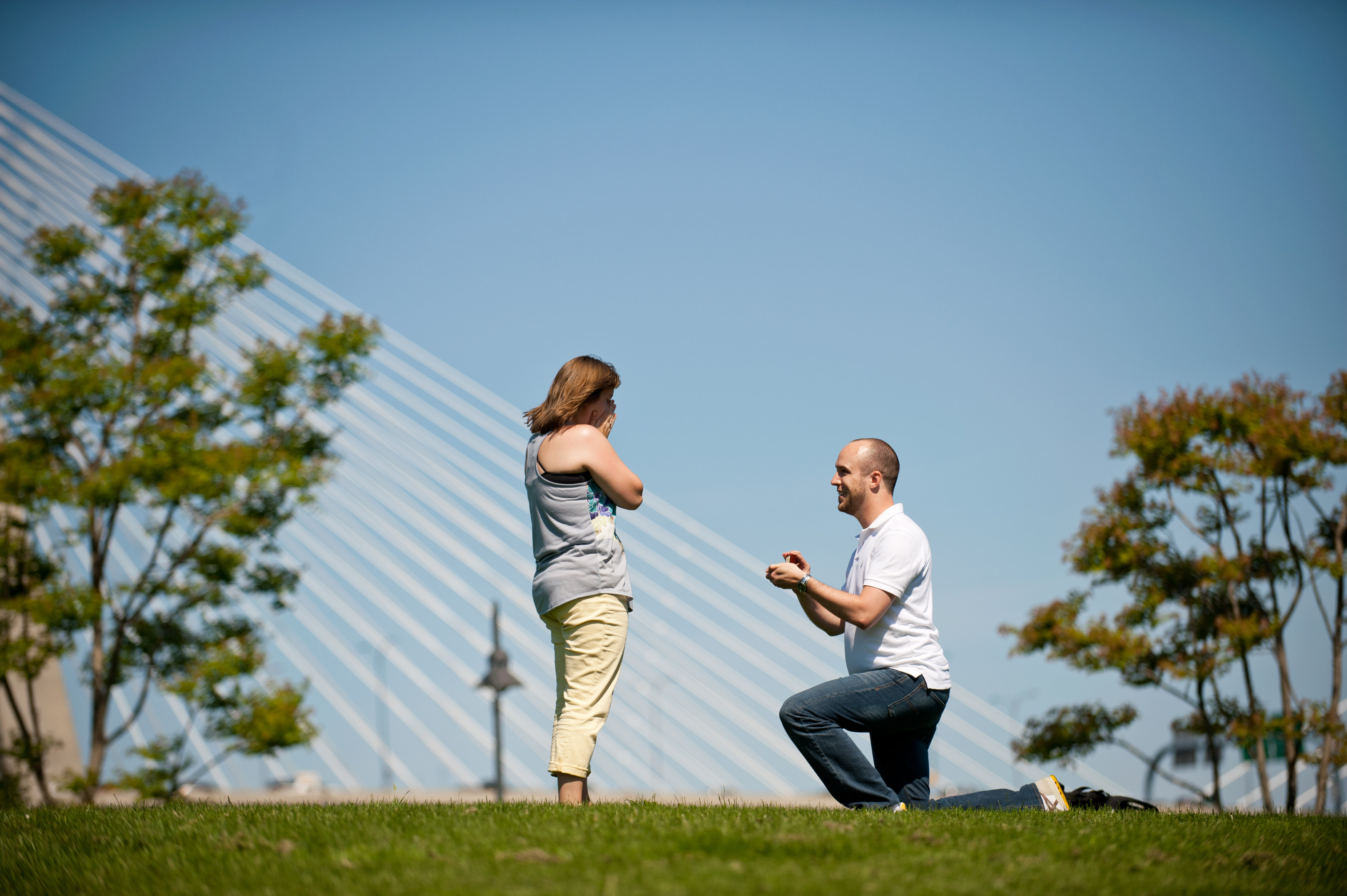 Image 6 of Marriage Proposal on the Charles River
