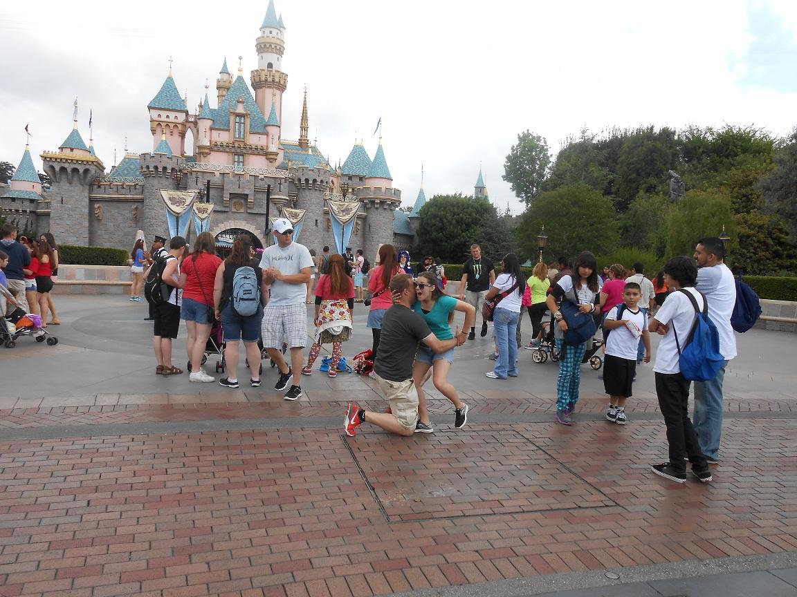 Image 1 of Disneyland Marriage Proposal