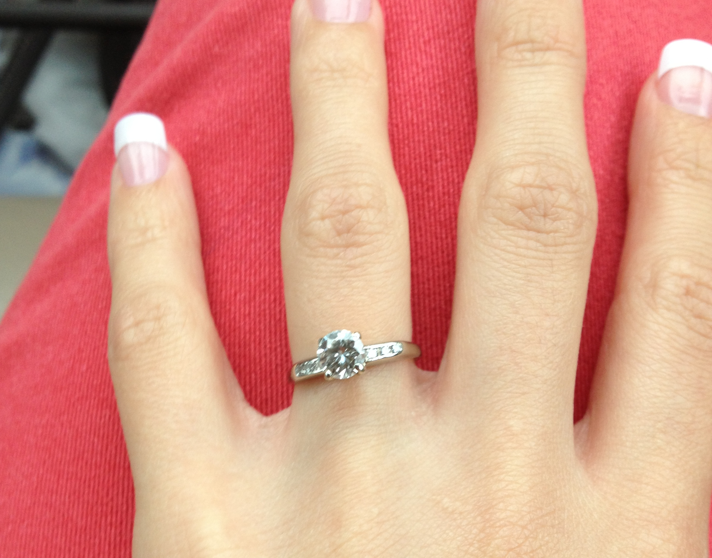Image 5 of Reader's Rings IV; Engagement Ring Photos Submitted by You!