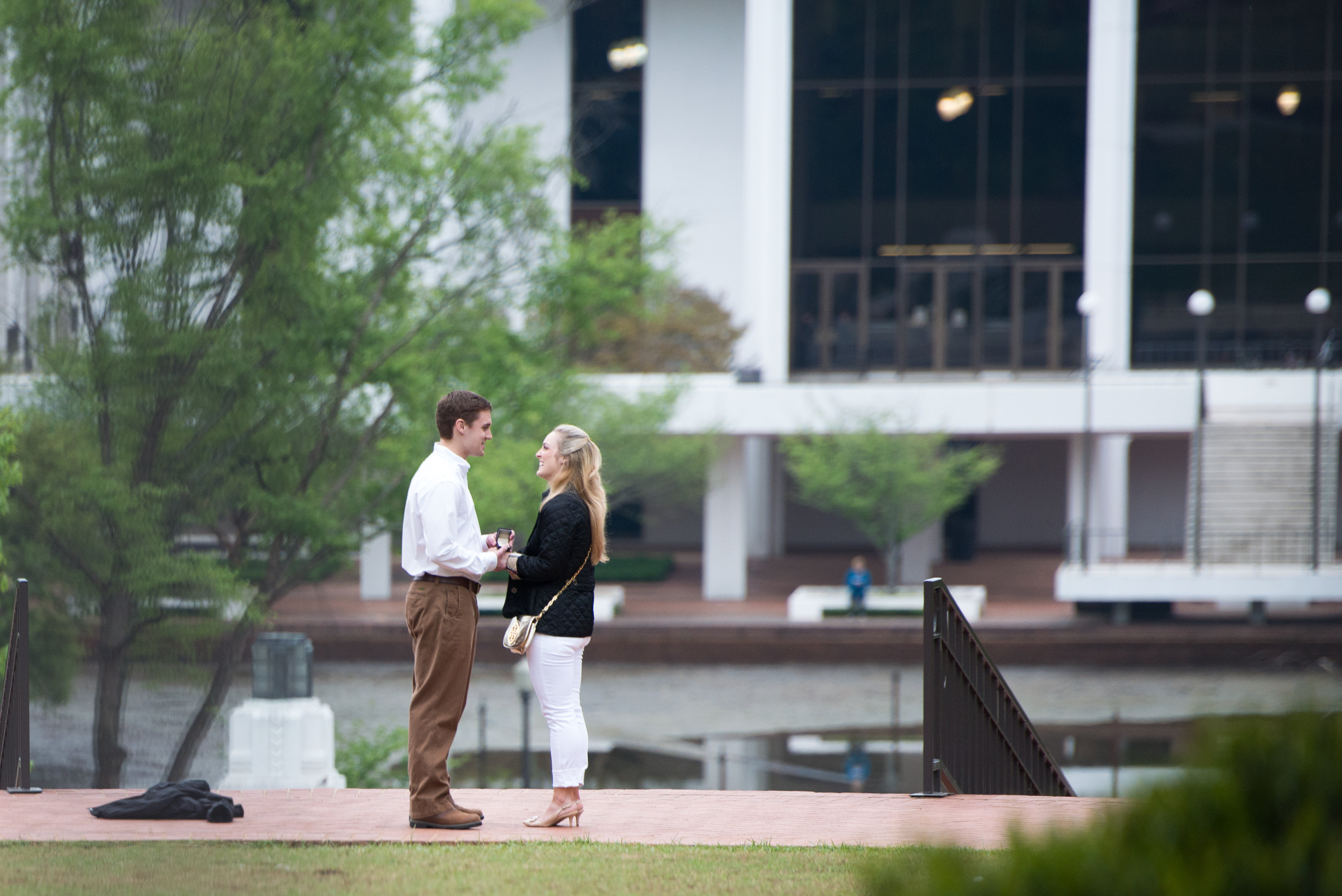 Image 5 of Clemson Marriage Proposal
