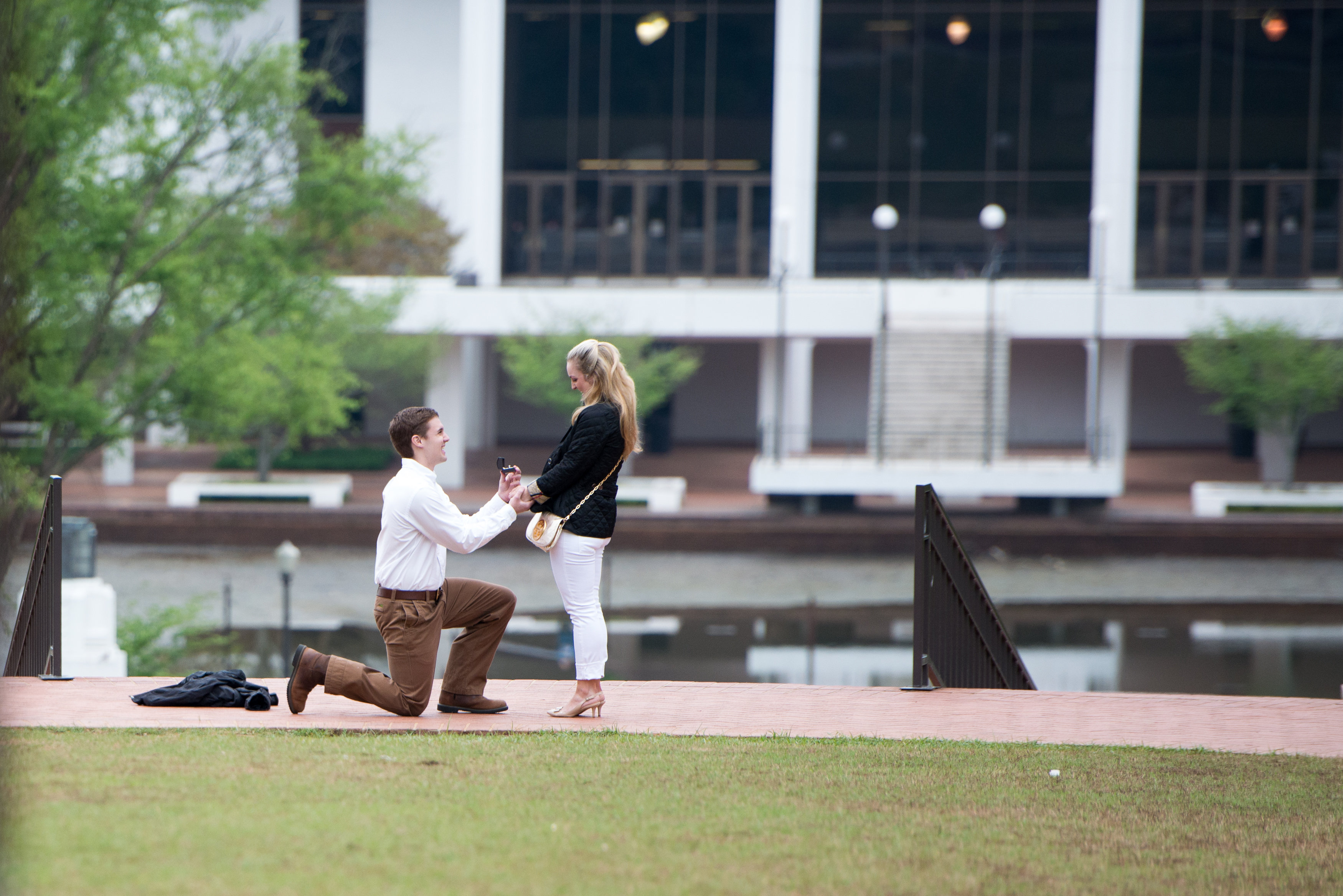 Image 7 of Clemson Marriage Proposal