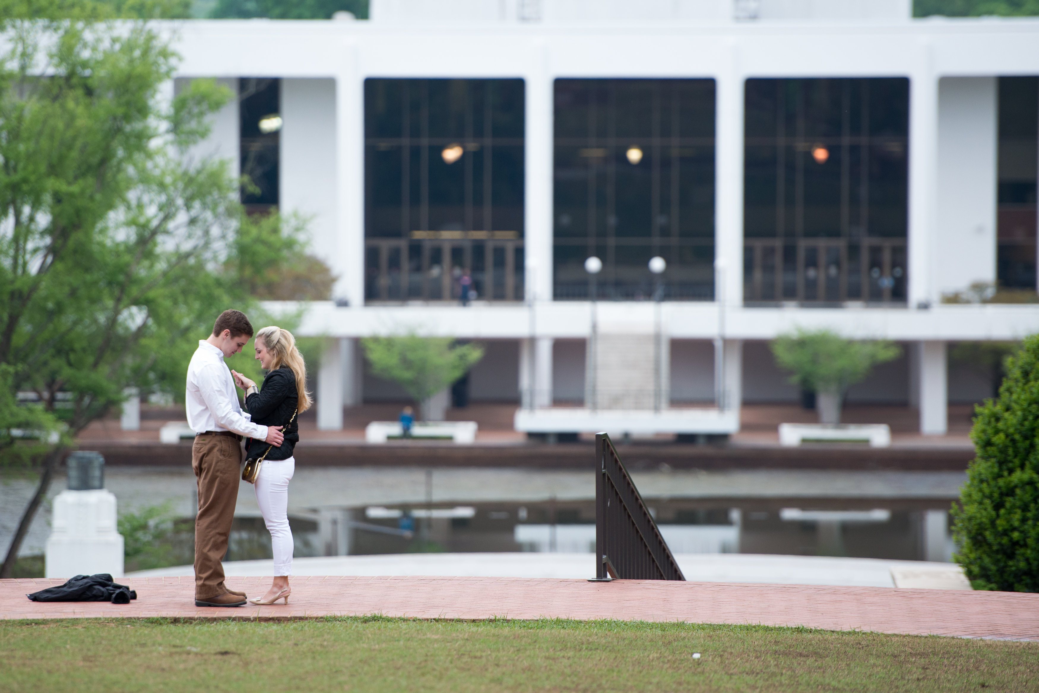 Image 8 of Clemson Marriage Proposal