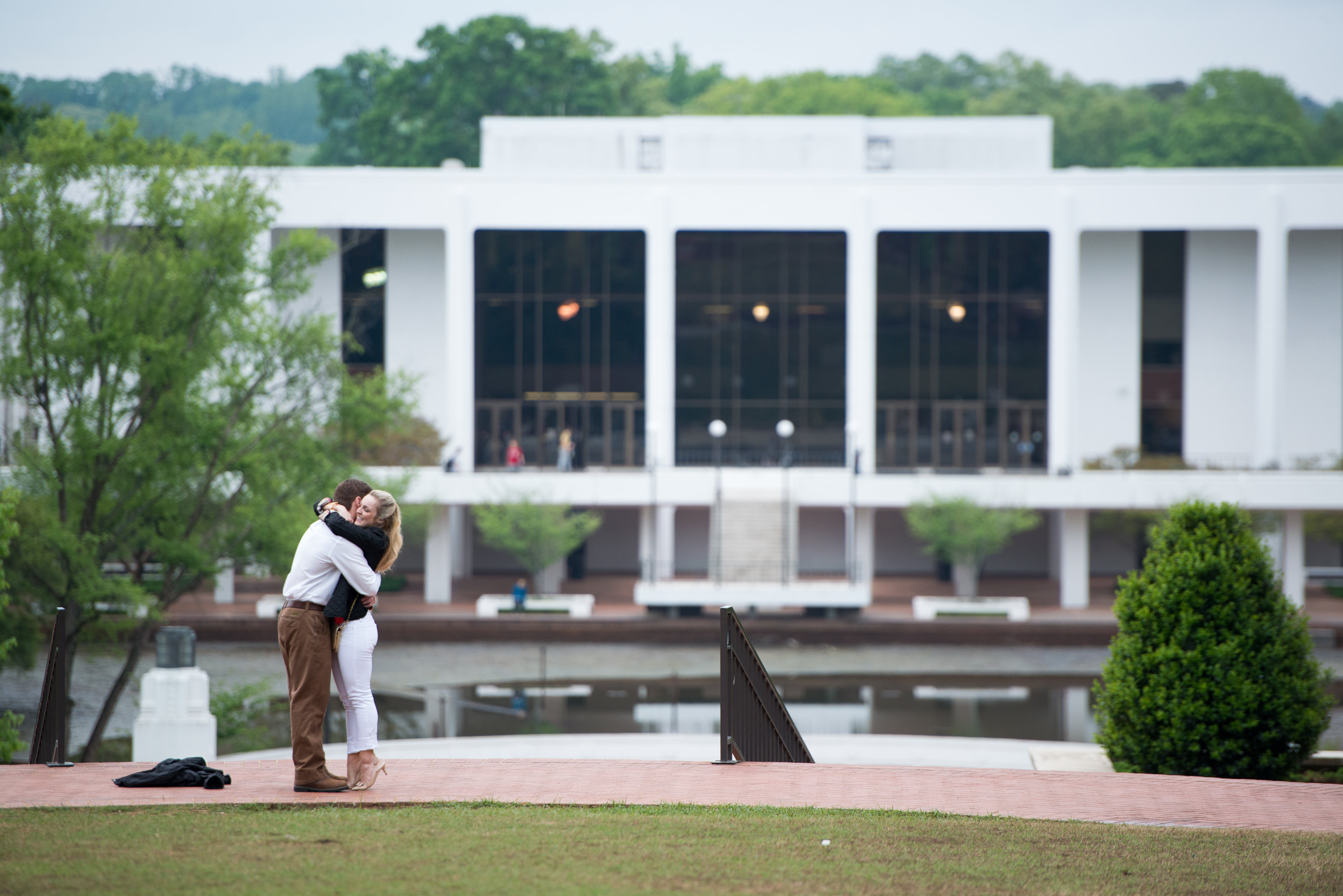 Image 10 of Clemson Marriage Proposal