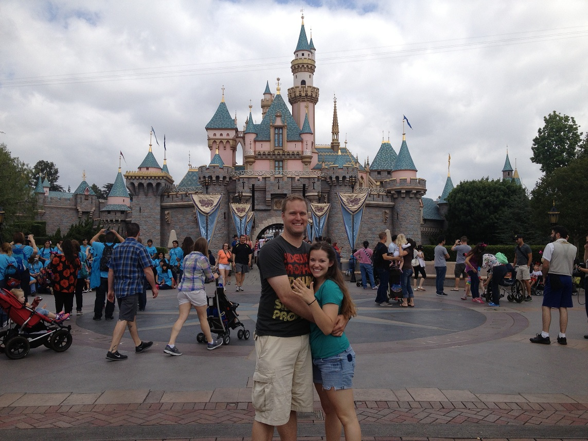 Image 4 of Disneyland Marriage Proposal