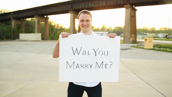 Image 3 of A Very Entertaining Proposal Video