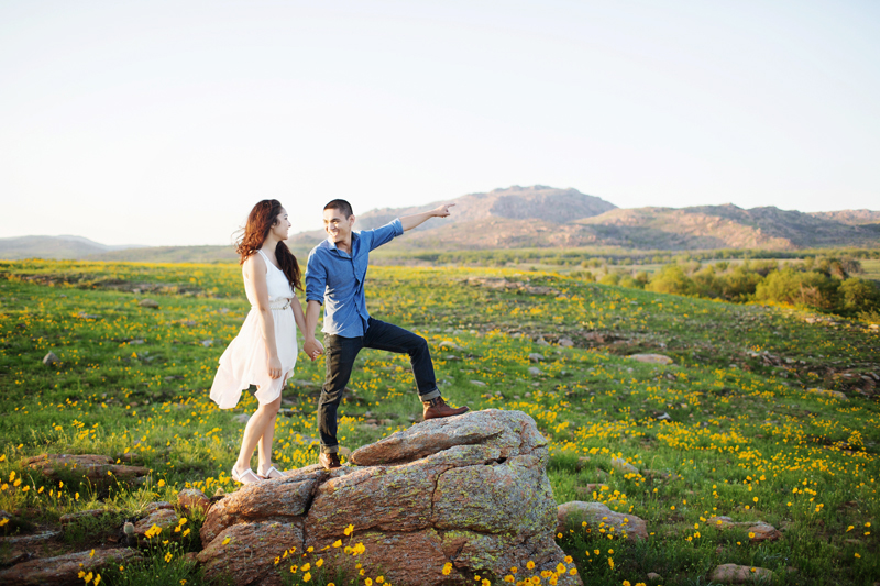 Image 6 of A Stunning Outdoor Marriage Proposal