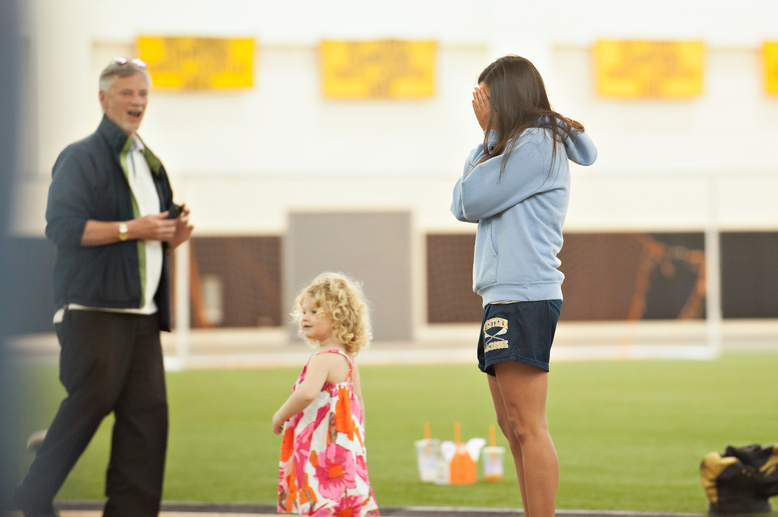 Image 6 of Marriage Proposal at Lacrosse Practice