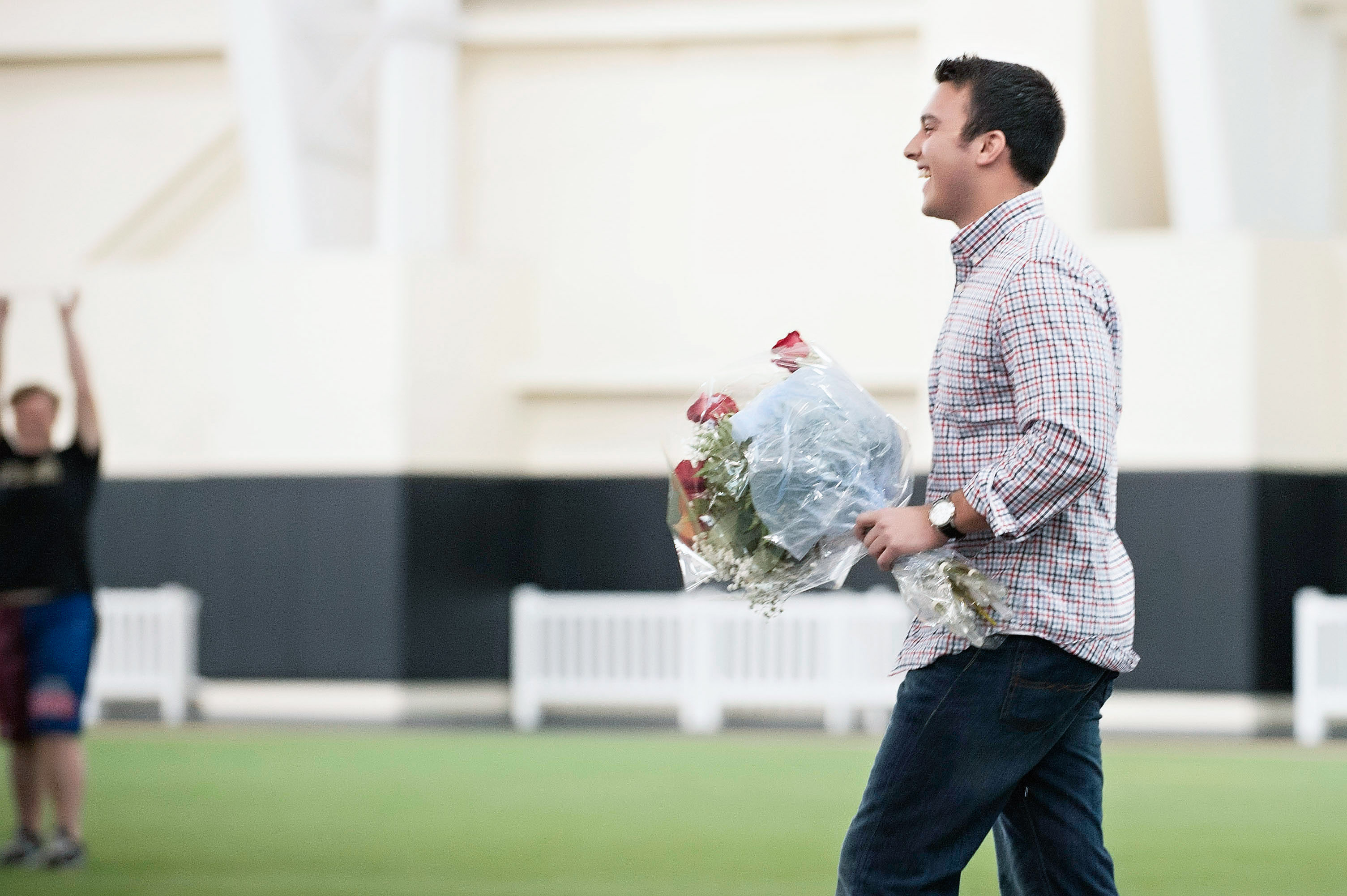 Image 7 of Marriage Proposal at Lacrosse Practice