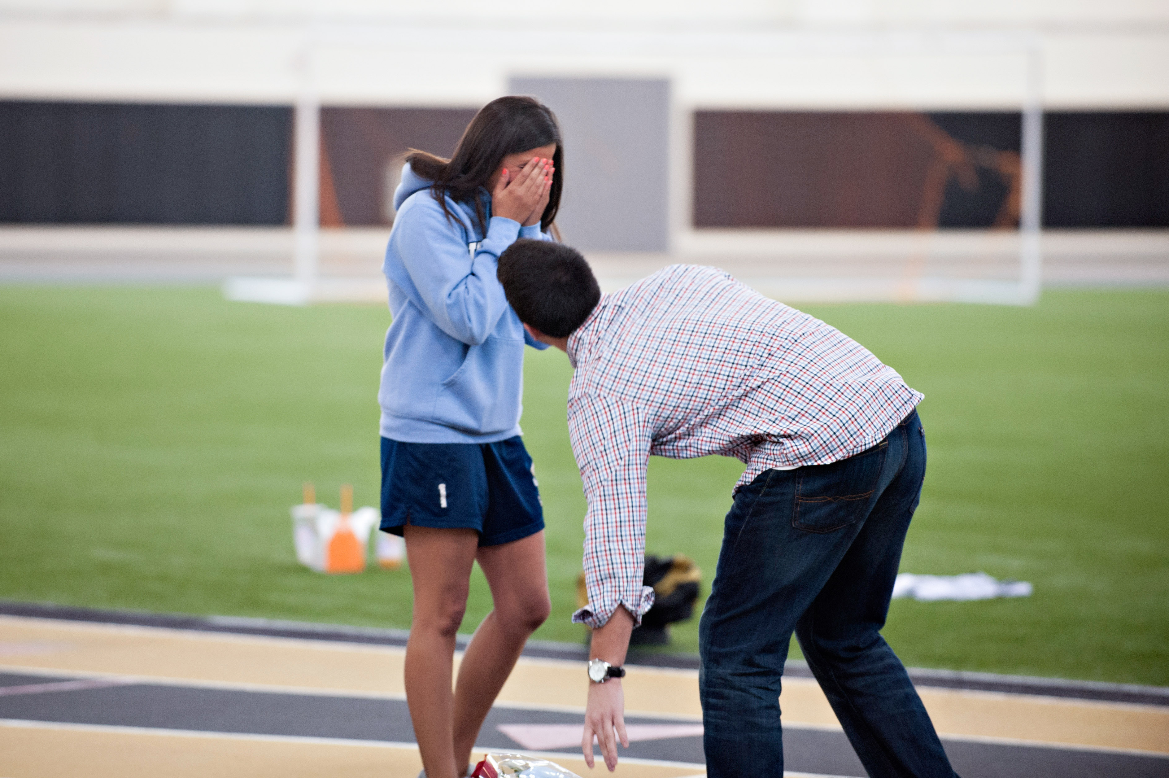 Image 8 of Marriage Proposal at Lacrosse Practice
