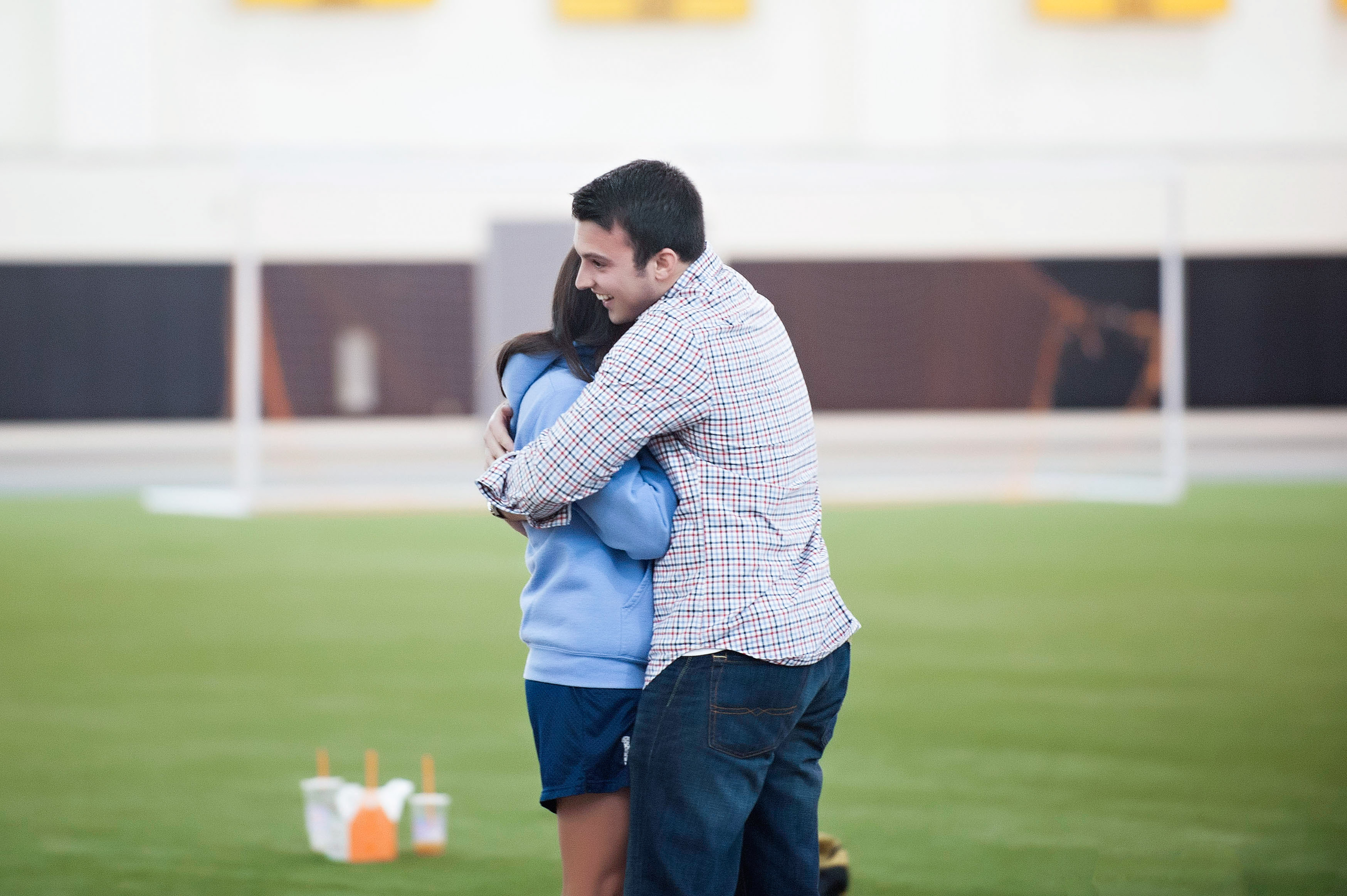 Image 12 of Marriage Proposal at Lacrosse Practice