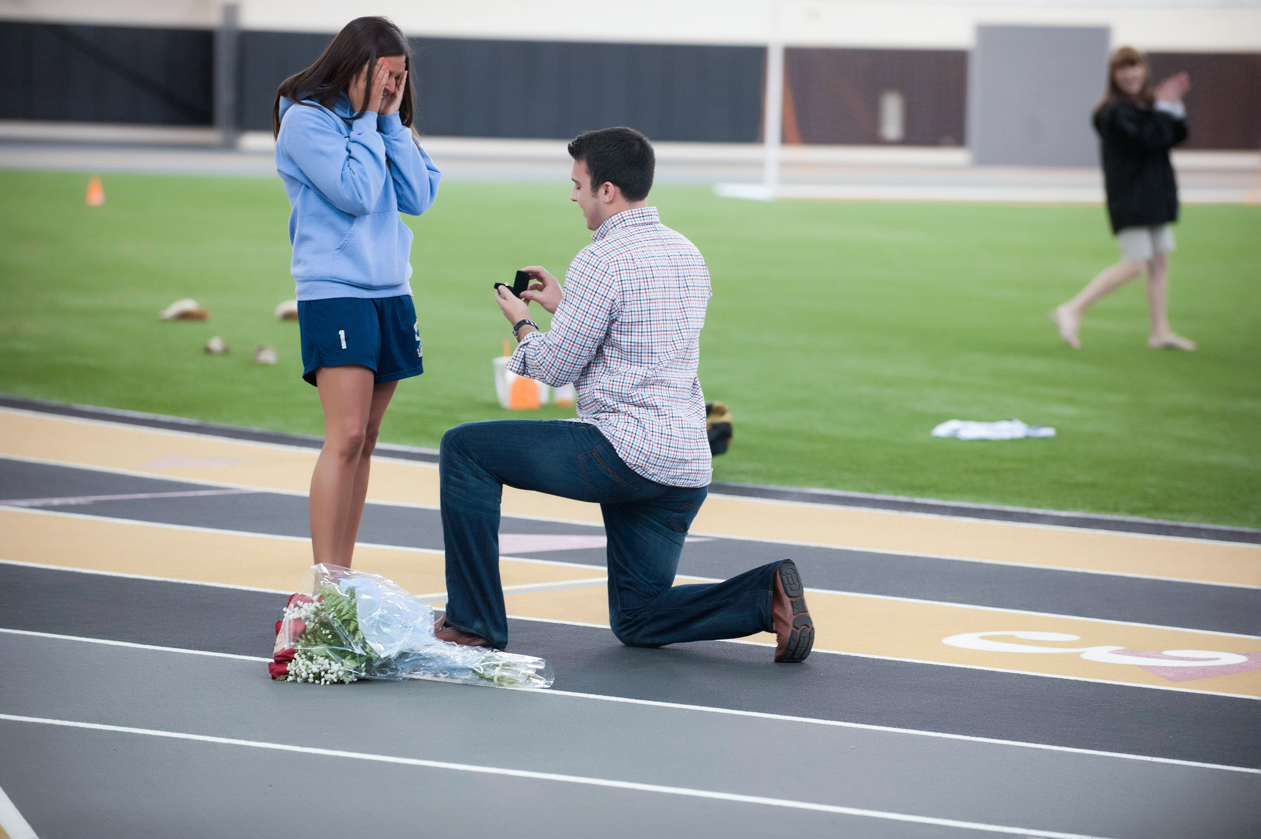 Image 10 of Marriage Proposal at Lacrosse Practice