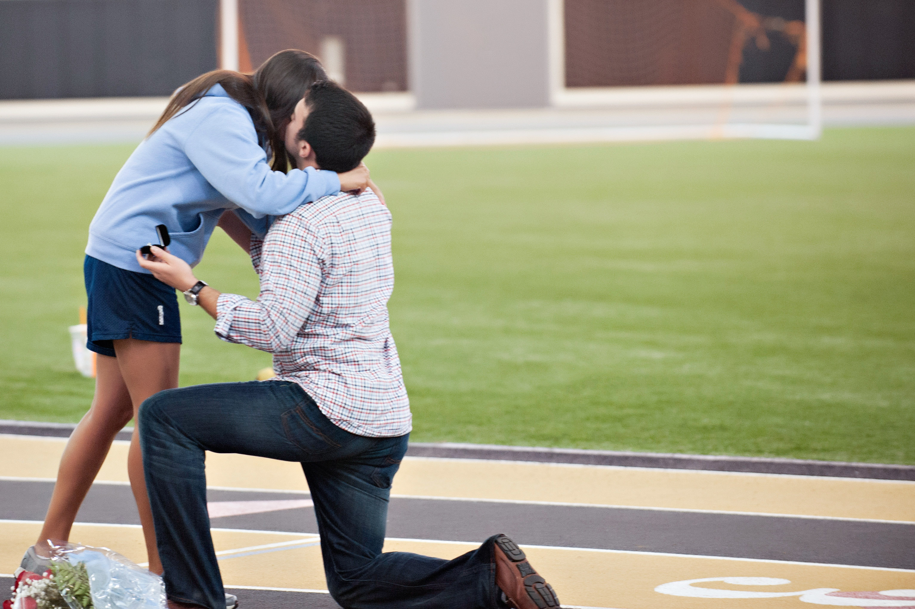 Image 11 of Marriage Proposal at Lacrosse Practice