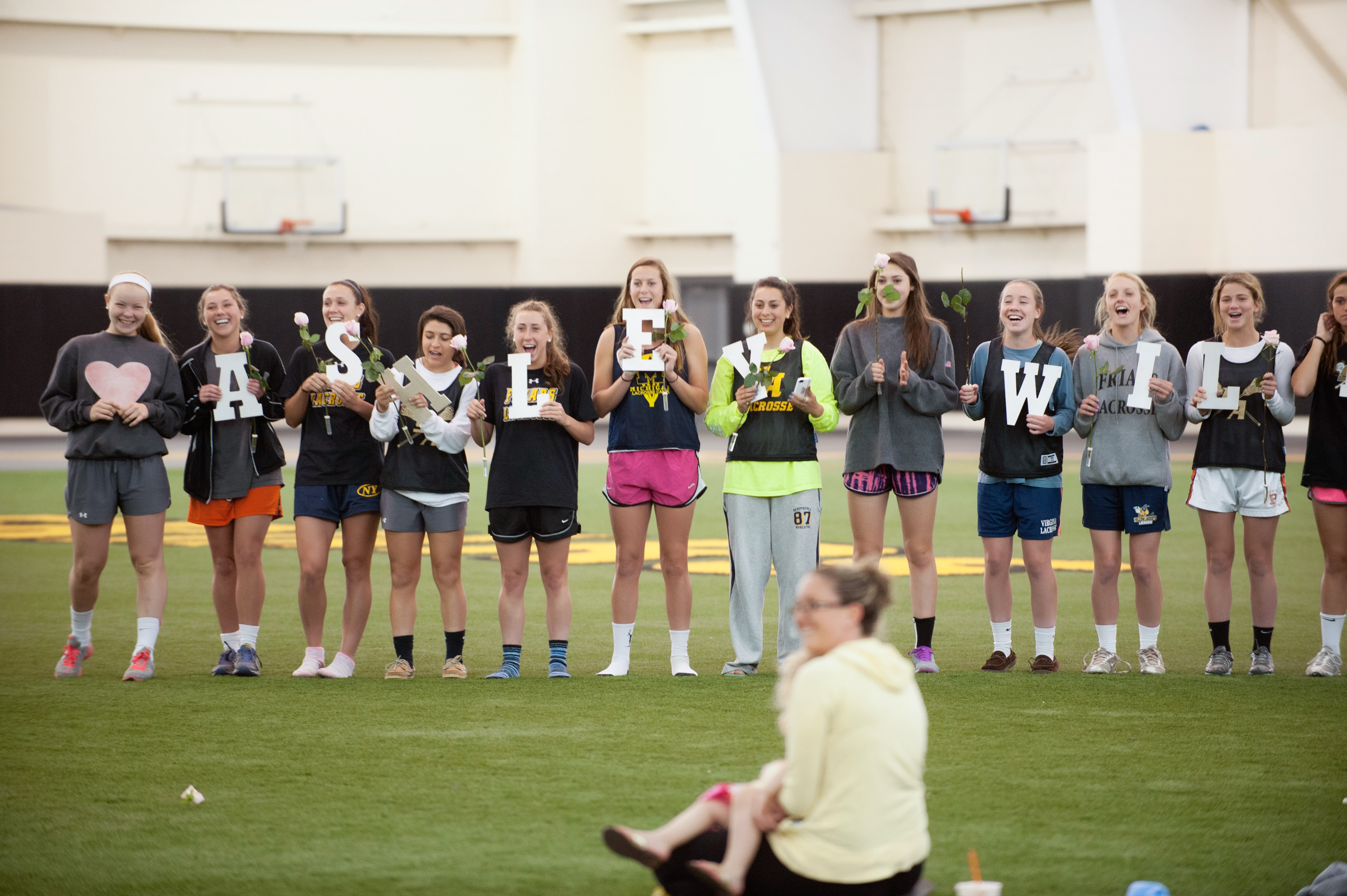 Image 4 of Marriage Proposal at Lacrosse Practice