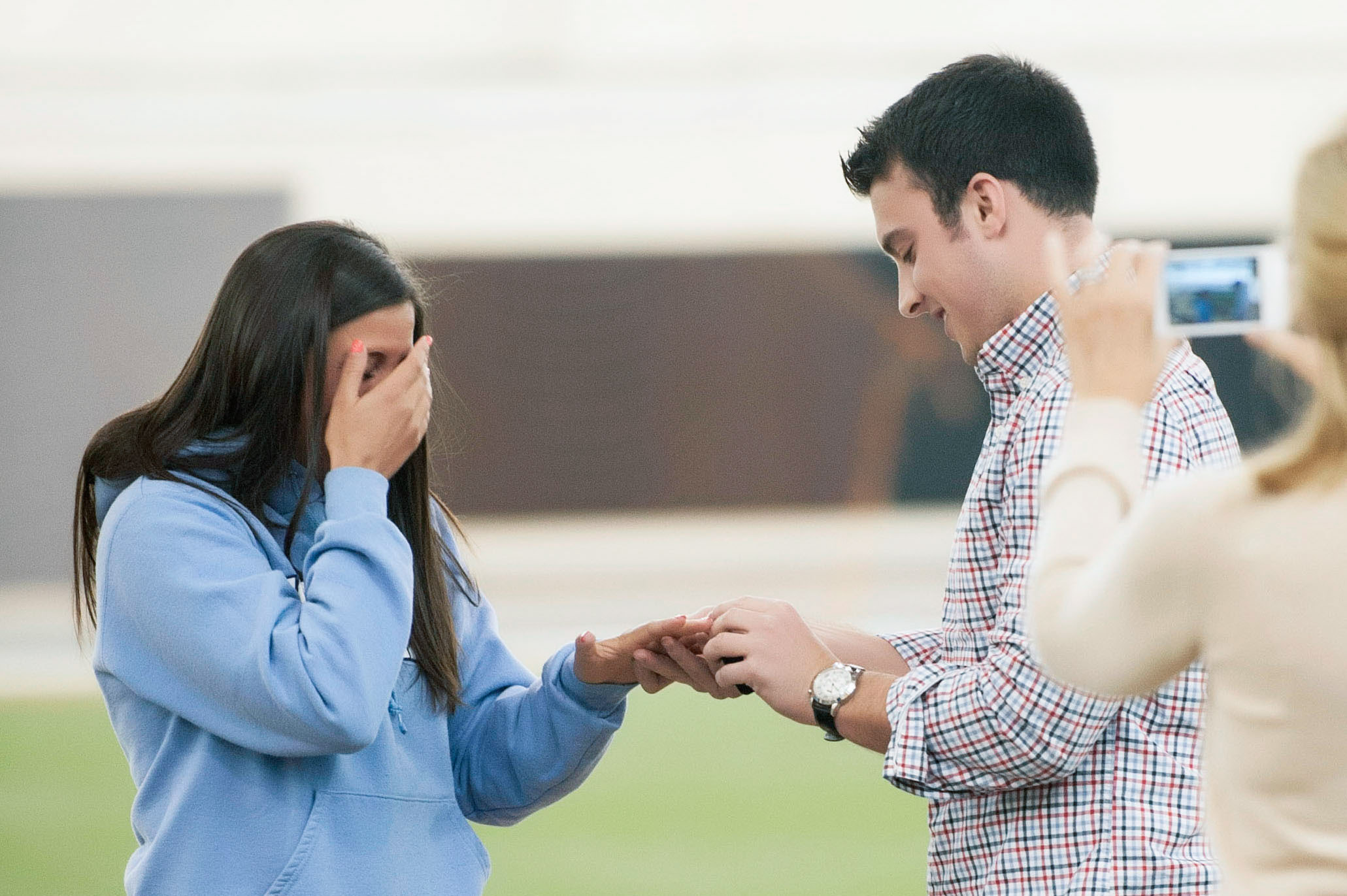 Image 13 of Marriage Proposal at Lacrosse Practice