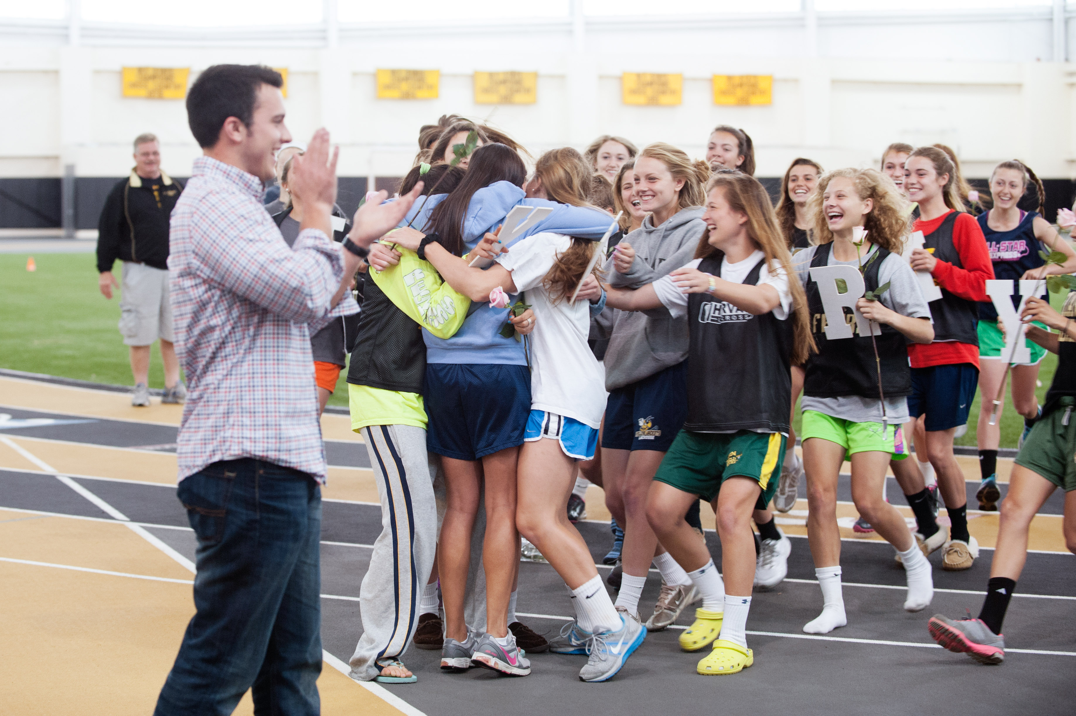 Image 16 of Marriage Proposal at Lacrosse Practice